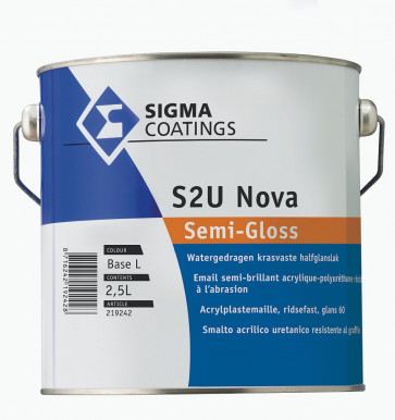 Sigma S2U Nova Semigloss 2,5Liter