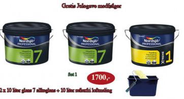 Forårsgave Tilbud  1 x 10 Liter Super loftmaling + 2 x 10 liter Vægmaling glans 7