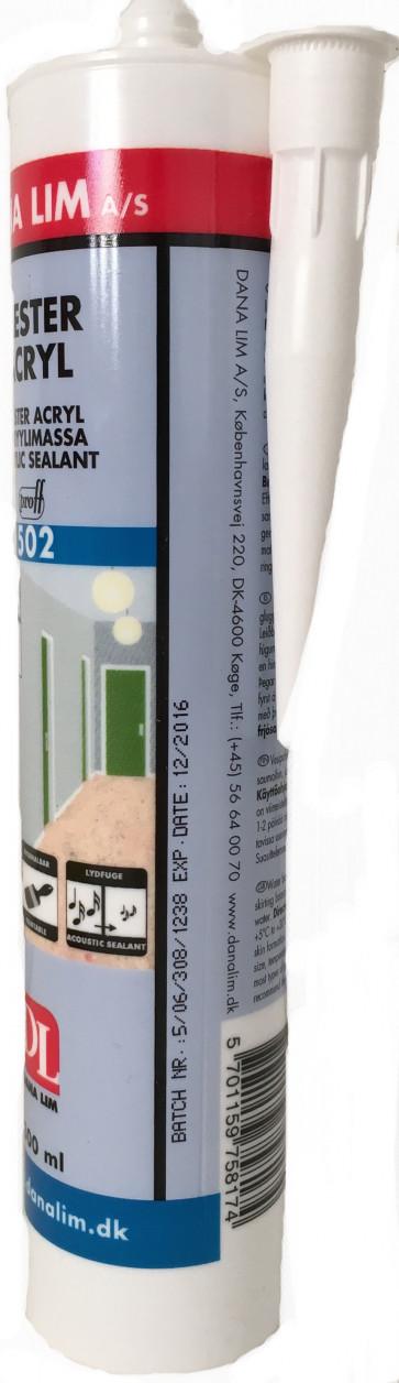 Malerkompagniets  12stk.  Acrylfuge 502