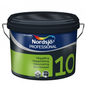 Nordsjø vægmaling Glans 10  -  10Liter
