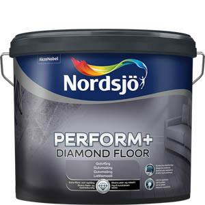 Forårstilbud Nordsjø Diamond gulvmaling 10 liter