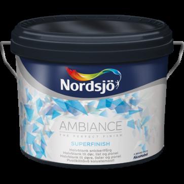 Udsalg  Nordsjø Ambiente  Superfinish  40 - 2,5L