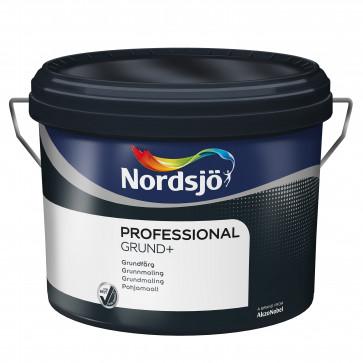 Nordsjø Grund + vægmaling grunder + vævfylder - 10 liter