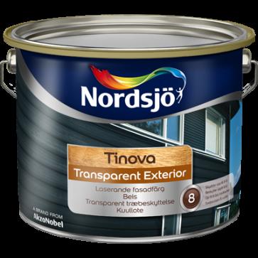 Nordsjø Transparant Exteriør 10 L
