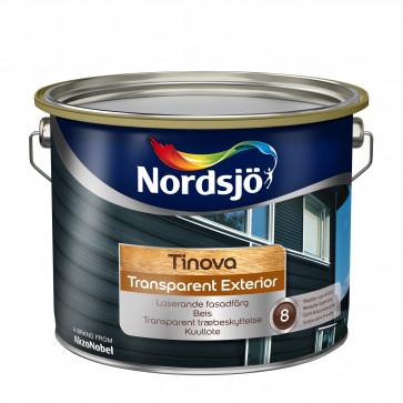 Nordsjø Transparant exteriør 2,5 liter