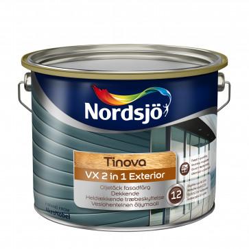 Nordsjø 2in1 + luksustræbeskyttelse Vand/olie - baseret - Ekstrem Holdbar - 5L