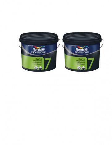 Udsalg Luksus vægmaling 2x10 liter Glans 7