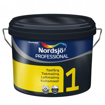 Nytårstilbud Reflexfri Loftmaling Glans 1 - 10 liter