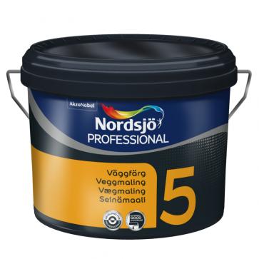 Nordsjø Professionel vægmaling Glans 5 - 10Liter