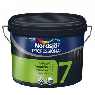 Nordsjø Vægmaling glans 7 ny kvalitet - 10Liter