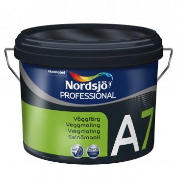 Nordsjø vægmaling Glans A7 - 10Liter