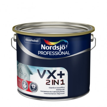 Nordsjø 2 in 1 + luksustræbeskyttelse vand/olie     -  Specialtilbud BEMÆRK  2x10 liter