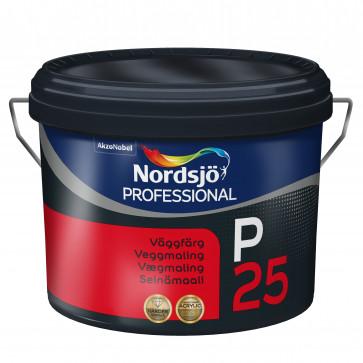 Nordsjø Vægmaling Glans P25 - 10 liter.