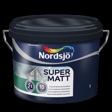 Nordsjø Supermat træbeskyttelse  10liter
