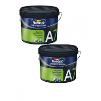 specialtilbud Luksus vægmaling 2x10 liter Glans A 7