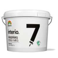 Interio glans 7 økonomi Vægmaling glans  -10liter