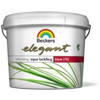Beckers Elegant Aqua lakfarve glans 70.  2,7 liter