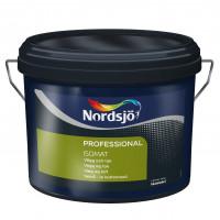 Nordsjø ISOMAT Spærrende loft- og vægmaling - 10 liter