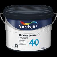 Nytårstilbud Nordsjø professional snikceri 40 Træværks emalie - 2,5L