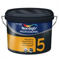 Nordsjø Professionel vægmaling Glans 5 - 5Liter