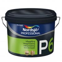 Nordsjø Vægmaling  P 6     10liter