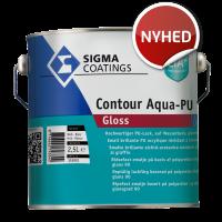 Sigma S2U Contour aqua Closs Højglans - 2,5L